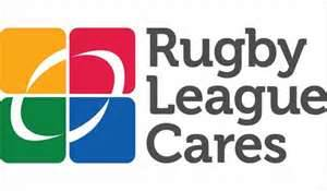 Rugby League cares logo