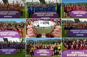 Champion schools girls finalists