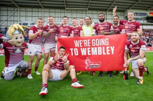 Wigan get to Wembley 2017